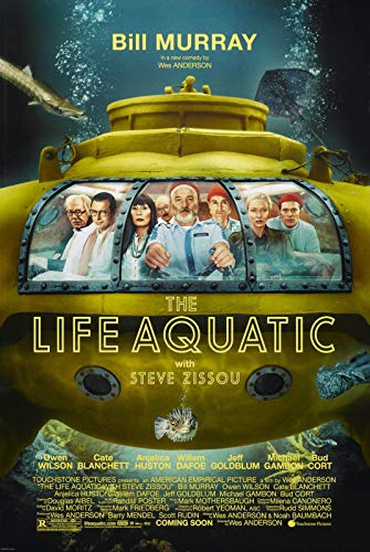 72636 The Life Aquatic with Steve Zissou Movie Decor Wall 36x24 Poster Print