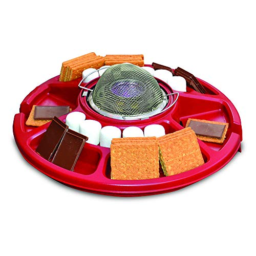 Sterno Family Fun S'mores Maker, Red