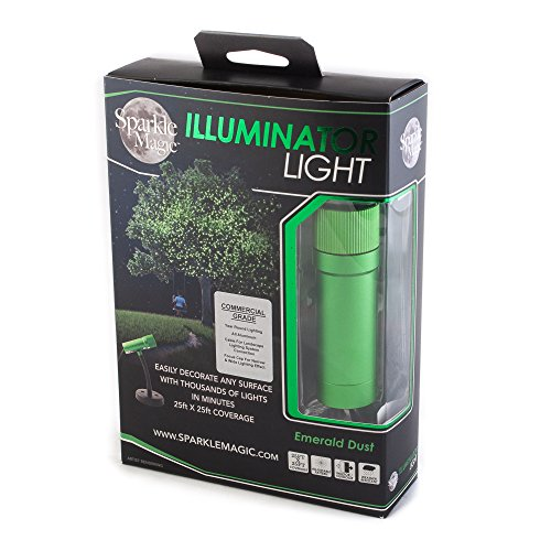 Sparkle Magic Green Commercial Grade Laser Light, Landscape Laser Lights, Christmas Laser Lights