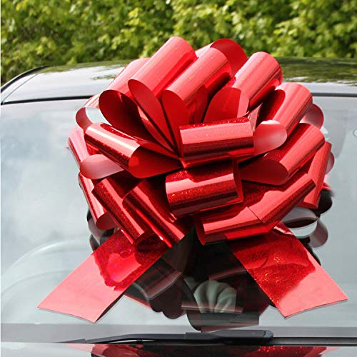 Big Car Bow Giant Extra Large Bow for Cars, Birthday Presents, Christmas Presents, Large Gift Decoration