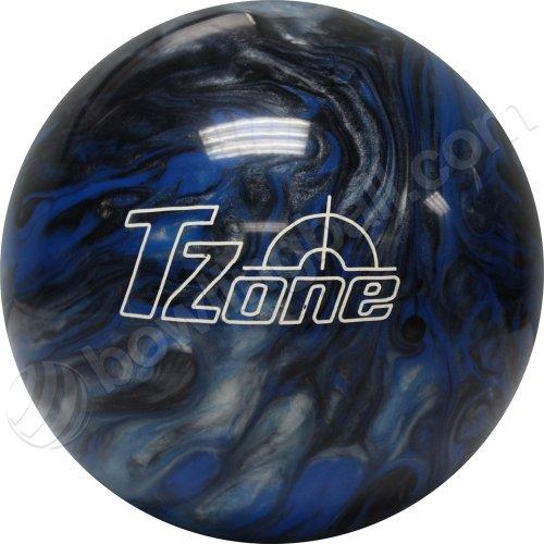 Brunswick TZone Indigo Swirl Bowling Ball (12-Pounds)