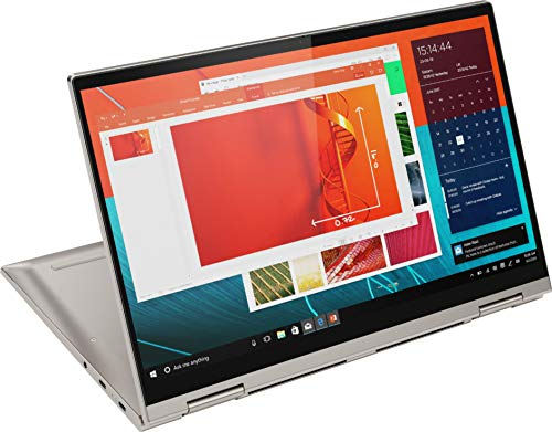 2020 Lenovo Yoga C740 2-in-1 14' Full HD 1080p Touchscreen Laptop PC, Intel Core i5-10210U Quad Core Processor, 8GB DDR4 RAM, 256GB SSD, Backlit Keyboard, Webcam, WiFi, Bluetooth, Windows 10, Mica