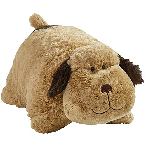 Pillow Pets Snuggly Puppy - Signature 18' Stuffed Animal Plush Toy, Brown