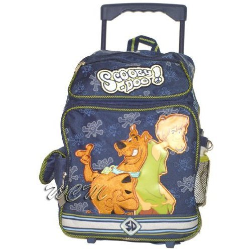 Scooby Doo and Shaggy Large Rolling Backpack