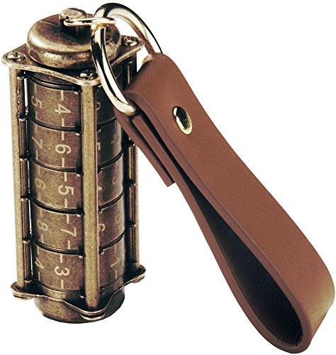 Cryptex USB Flash Drive 32 GB, USB 3.0, Antique Gold