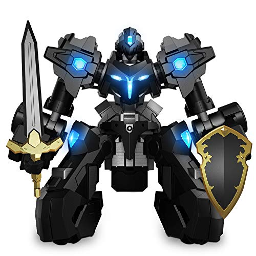 GANKER EX - Remote Control Robot, Battle Robot with Man-Machine Synchronization, Precise Omni-Directional Motion, Electronic Scoring System, App-Connected Gaming Robot Compatible with iOS & Android