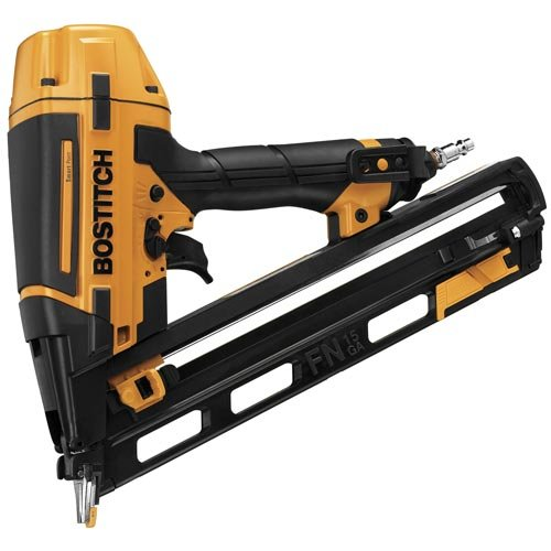 BOSTITCH Finish Nailer Kit, 15GA, FN Style with Smart Point (BTFP72156)