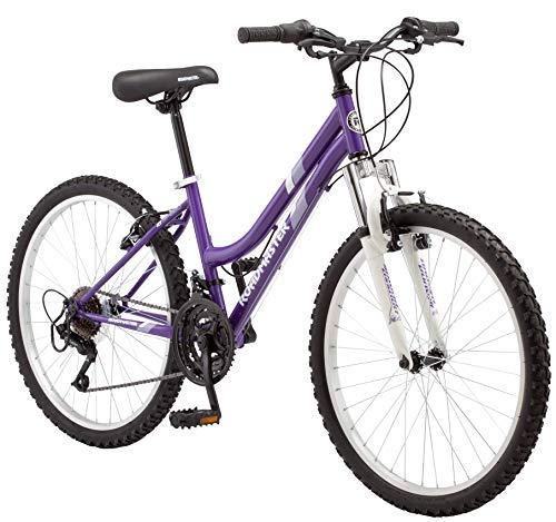 Roadmaster - 24 Inches Granite Peak Girl's Mountain Bike, Purple