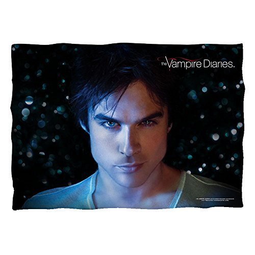 C&W Damon Close-Up - The Vampire Diaries - Pillow Case