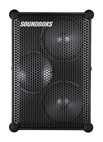 The New SOUNDBOKS - The Loudest Portable Bluetooth Performance Speaker (126 dB, Wireless, Bluetooth 5.0, Swappable Battery, 40Hr Average Playtime) (1BB) (3rd Gen)