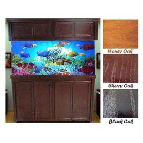R&J Enterprises ARJ40117 Xtreme Series Oak Wood Aquarium Cabinet Stand, 72 by 18-Inch, Honey