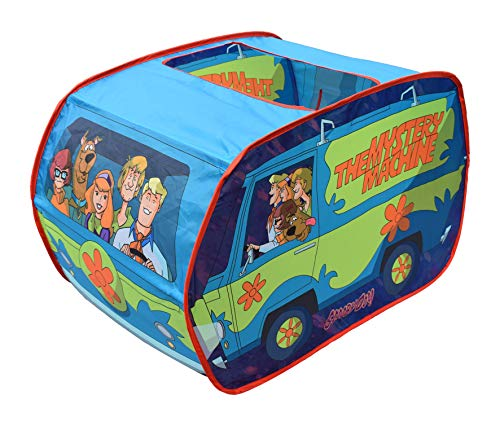 Sunny Days Scooby Doo The Mystery Machine Pop Up Tent – Indoor Playhouse for Kids | Toy Gift for Boys and Girls Entertainment