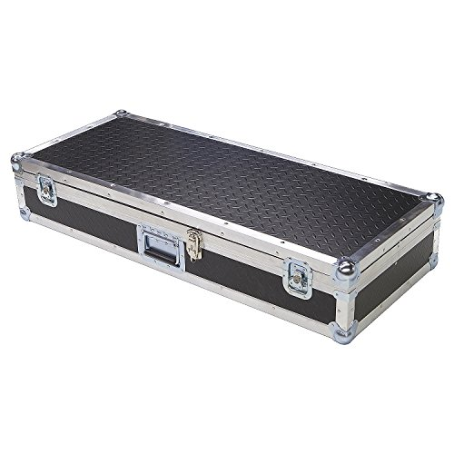 Keyboard 1/4 Ply ATA Light Duty Case with Diamond Plate Laminate Fits Moog Little Phatty Stage Ii