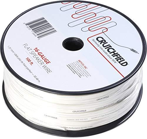 Crutchfield 16 Gauge Flat Wire 100 Foot Roll