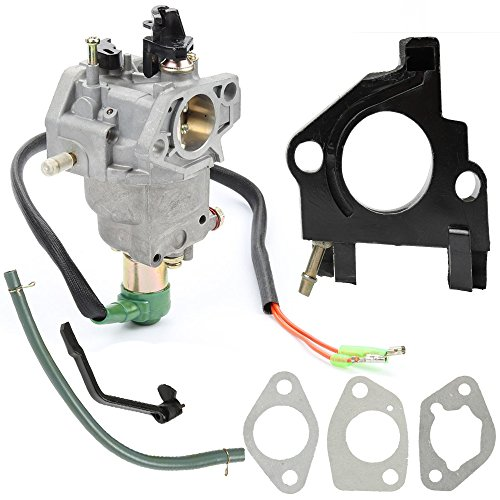 Buckbock Manual Choke Carburetor Carb for Powerland PD3G6500E PD8500E PD3G8500E PD10000E PD3G10000E Generator