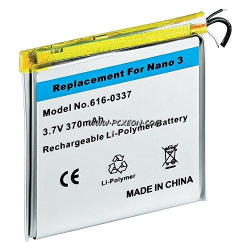 Internal Inner Li-ion Polymer Battery Repair Replacement for iPod Nano 3rd Gen 4gb 8gb