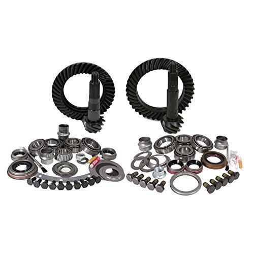 "Yukon Gear & Axle (YGK004) Gear & Install Kit for Jeep XJ Dana 30 Front Chrysler 8.25"" Rear 4.88 Ratio"