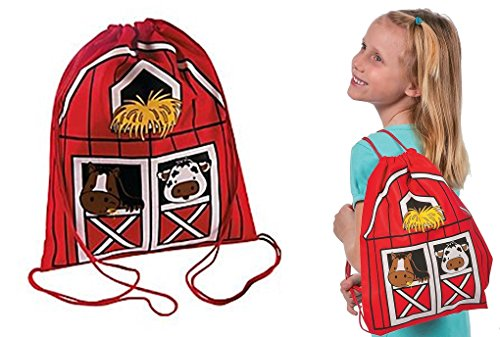 Fun Express Drawstring Backpacks (Set of 12)