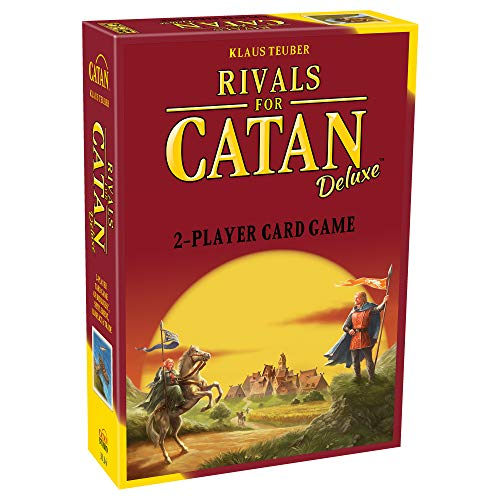 Rivals for CATAN Card Game for 2 Players Deluxe Edition (Base Game) | Card Game for Adults and Family | Strategy Card Game | Ages 10+ | Average Playtime 45 minutes | Made by Catan Studio