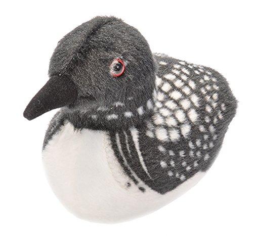 Wild Republic Audubon Birds Common Loon Plush with Authentic Bird Sound, Stuffed Animal, Bird Toys for Kids & Birders