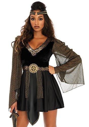 Leg Avenue Women's Costume, Black, Large