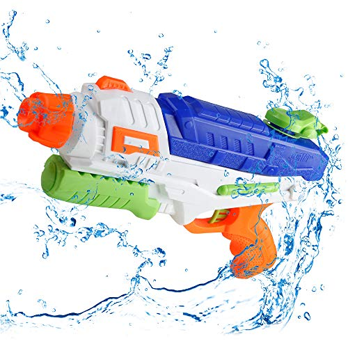 Water Gun, Squirt Gun for Kids Adults Super Water Soaker Blasters with 1000CC High Capacity and 35 Feet Long Range Shooting Water Toy Gift for Boys Girls Summer Swimming Pools Beach Party