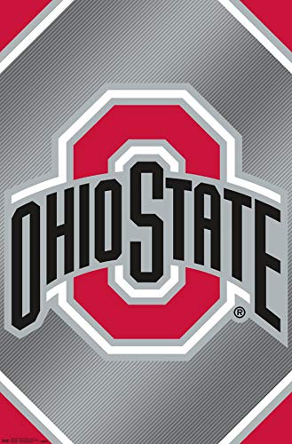 Trends International the Ohio State University-Logo Wall Poster, 22.375' x 34', Multi