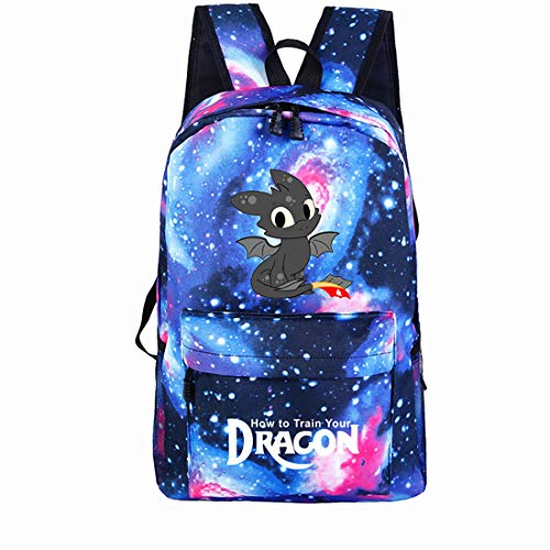 How To Train Your Dragon Lightweight Night Fury Backpack Laptop Bag