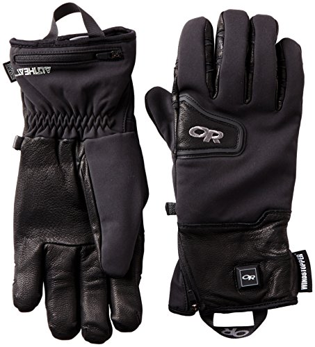 Outdoor Research Stormtracker Heated Gloves, Black, Large