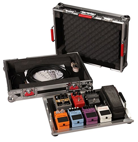 Gator Cases G-TOUR Series Guitar Pedal board with ATA Road Case; Small: 17' x 11' (G-TOUR PEDALBOARD-SM) (Renewed)