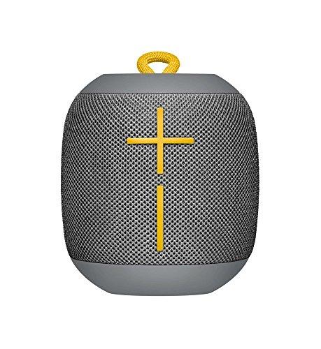 Ultimate Ears WONDERBOOM Portable Waterproof Bluetooth Speaker - Wireless Boom Box, Double-Up Connection - Eco Friendly Packaging - Stone Grey