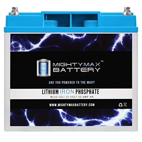 Mighty Max Battery 12V 22AH Lithium Replacement Battery for Vector VEC012POB Power on Board Jump Starter Brand Product