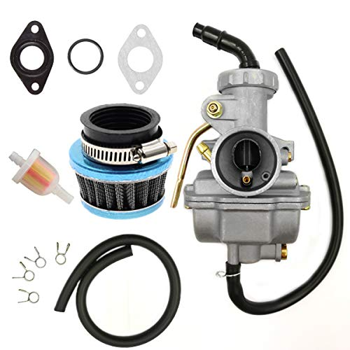 Pz19 Carburetor With Fuel Switch For 50cc 90cc 110cc 125cc Manual Guide