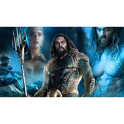 QFW Arthur Curry Aquaman Puzzles 300/500/1000/1500 Pieces for Adults Wooden DC Justice League Jigsaw Puzzles Kids Toys, 4 Styles R/72 (Color : A, Size : 1000 Pieces)