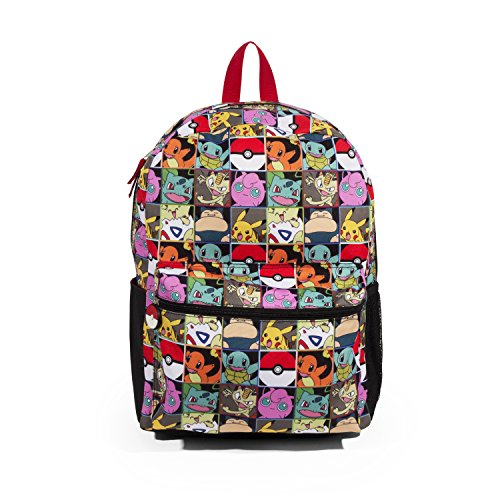 FAB Starpoint Pokemon Multi Character Check 16 Backpack