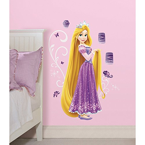 RoomMates Disney Princess - Rapunzel Peel And Stick Giant Wall Decals,Multicolor
