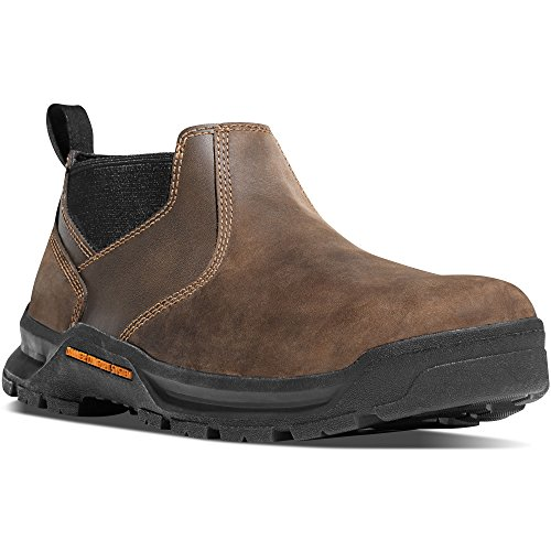 Danner Crafter Romeo 3' Brown Hot Work Boots Oil & Slip Resistant | Work Shoes | Modern Battlefield Combat Boot | Electrical Hazard Boot Leather (9.5 D)