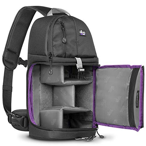 Altura Photo Camera Sling Backpack Bag for DSLR and Mirrorless Cameras (Canon Nikon Sony Pentax)