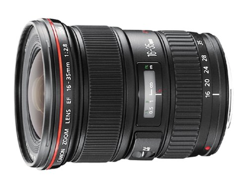 Canon EF 16-35mm f/2.8L USM Ultra Wide Angle Zoom Lens for Canon SLR Cameras (Discontinued by Manufacturer)
