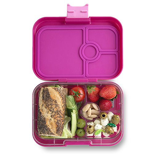 Yumbox Panino Leakproof Bento Lunch Box Container for Kids & Adults (Malibu Purple)