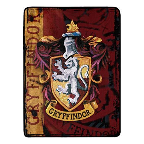 Harry Potter, 'Battle Flag' Micro Raschel Throw Blanket, 46' x 60', Multi Color