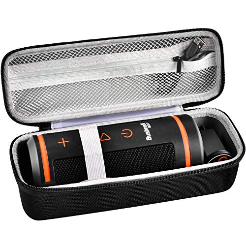 Case Compatible with Bushnell Wingman GPS Speaker, Storage Carrying Organizer Pouch Fits for Golf GPS and USB Charging Cable(Box Only)