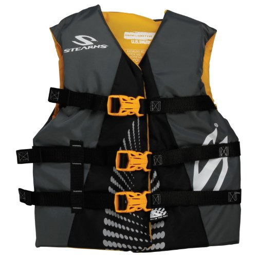 Stearns Youth Extra Long Watersports Vest, X-Large, Gold