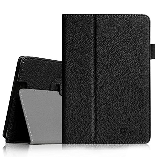 Fintie Folio Case for Kindle Fire HD 7' (2013 Old Model) - Slim Fit Folio Case with Auto Sleep / Wake Feature (Will only fit Amazon Kindle Fire HD 7, Previous Generation - 3rd), Black