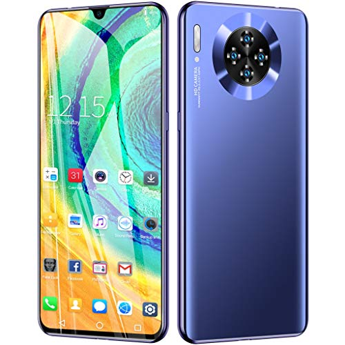 2019 New -Unlocked Cell Phone, 6.26inch Ultrathin HD Display 2MP +8MP Camera 3300Mah Battery 1G+16G Smartphone Dual SIM 3G Mobile Phone Android 6.1 Multi-Language Support (Blue)