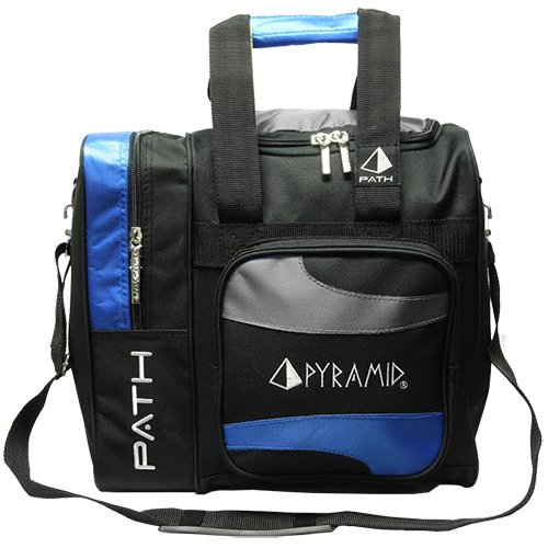 Pyramid Path Deluxe Single Tote - Royal Blue/Silver