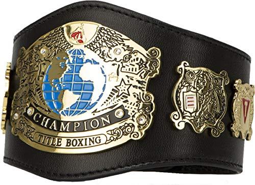 Title Boxing Undisputed Champion Mini Title Belt, Black