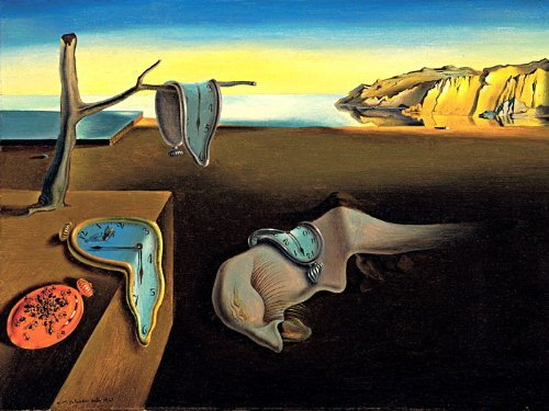 D7022 Salvador Dali The Persistence of Memory Abstract Art 32x24 Print POSTER