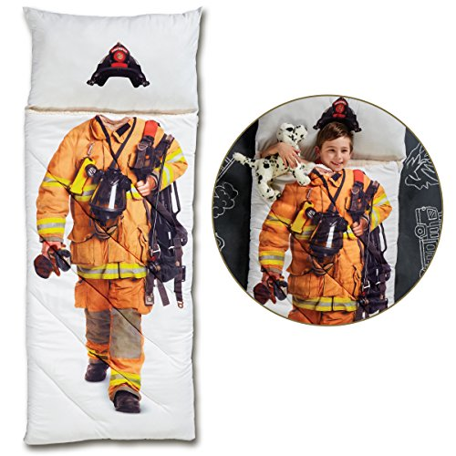 FAO Schwarz Imaginary Adventure Firefighter Sleeping Bag