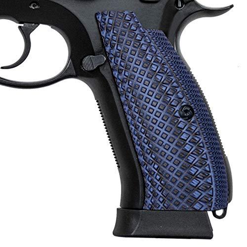 Guuun CZ 75 SP-01 Grips Full Size G10 CZ Grip Crosscut Texture